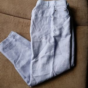 NWT 100% LINEN JONES NEW YORK SPORT PANTS